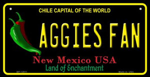 Aggies Fan Wholesale Novelty Metal Bicycle Plate BP-12911