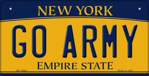 Go Army Wholesale Novelty Metal Bicycle Plate BP-12924