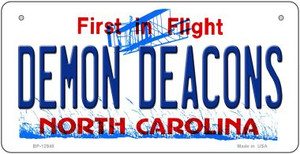 Demon Deacons Wholesale Novelty Metal Bicycle Plate BP-12948