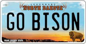 Go Bison Wholesale Novelty Metal Bicycle Plate BP-12955