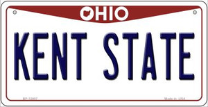 Kent State Wholesale Novelty Metal Bicycle Plate BP-12957