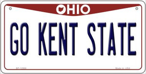 Go Kent State Wholesale Novelty Metal Bicycle Plate BP-12958