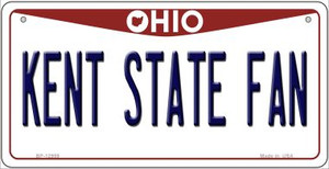 Kent State Fan Wholesale Novelty Metal Bicycle Plate BP-12959