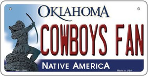 Cowboys Fan Wholesale Novelty Metal Bicycle Plate BP-12980