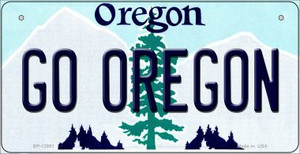 Go Oregon Wholesale Novelty Metal Bicycle Plate BP-12981
