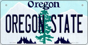 Oregon State Wholesale Novelty Metal Bicycle Plate BP-12984