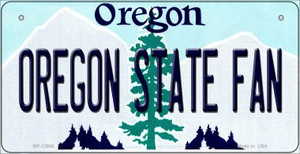 Oregon State Fan Wholesale Novelty Metal Bicycle Plate BP-12986