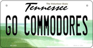 Go Commodores Wholesale Novelty Metal Bicycle Plate BP-13031