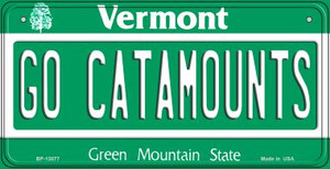 Go Catamounts Wholesale Novelty Metal Bicycle Plate BP-13077