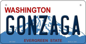 Gonzaga Wholesale Novelty Metal Bicycle Plate BP-13087