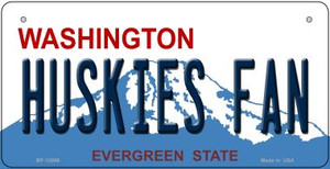 Huskies Fan Wholesale Novelty Metal Bicycle Plate BP-13096