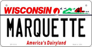 Marquette Wholesale Novelty Metal Bicycle Plate BP-13114