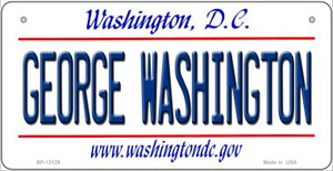George Washington Wholesale Novelty Metal Bicycle Plate BP-13129