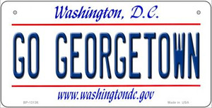 Go Georgetown Wholesale Novelty Metal Bicycle Plate BP-13136