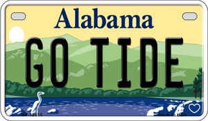 Go Tide Wholesale Novelty Metal Motorcycle Plate MP-12615