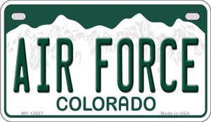 Air Force Wholesale Novelty Metal Motorcycle Plate MP-12687