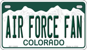 Air Force Fan Wholesale Novelty Metal Motorcycle Plate MP-12689