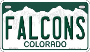 Falcons Wholesale Novelty Metal Motorcycle Plate MP-12690