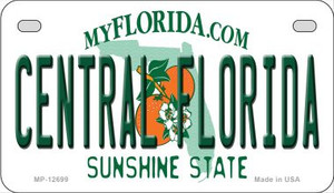 Central Florida Wholesale Novelty Metal Motorcycle Plate MP-12699
