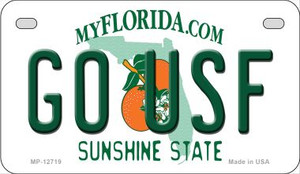 Go USF Wholesale Novelty Metal Motorcycle Plate MP-12719
