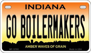 Go Boilermakers Wholesale Novelty Metal Motorcycle Plate MP-12763