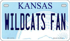 Wildcats Fan Wholesale Novelty Metal Motorcycle Plate MP-12783