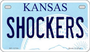 Shockers Wholesale Novelty Metal Motorcycle Plate MP-12786