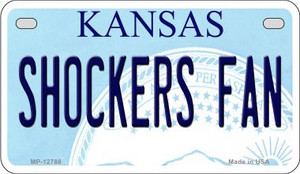 Shockers Fan Wholesale Novelty Metal Motorcycle Plate MP-12788