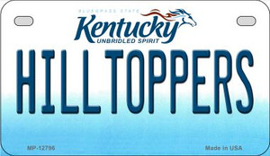 Hilltoppers Wholesale Novelty Metal Motorcycle Plate MP-12796