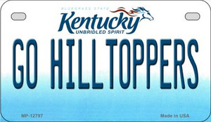 Go Hilltoppers Wholesale Novelty Metal Motorcycle Plate MP-12797