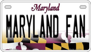 Maryland Fan Wholesale Novelty Metal Motorcycle Plate MP-12804