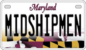 Midshipmen Wholesale Novelty Metal Motorcycle Plate MP-12811