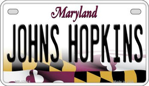 Johns Hopkins Wholesale Novelty Metal Motorcycle Plate MP-12814