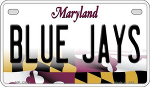Blue Jays Wholesale Novelty Metal Motorcycle Plate MP-12817