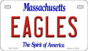 Eagles Wholesale Novelty Metal Motorcycle Plate MP-12824