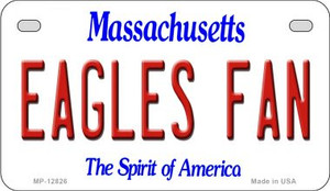 Eagles Fan Wholesale Novelty Metal Motorcycle Plate MP-12826