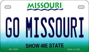 Go Missouri Wholesale Novelty Metal Motorcycle Plate MP-12856