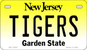 Tigers Wholesale Novelty Metal Motorcycle Plate MP-12887