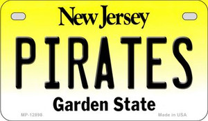 Pirates Wholesale Novelty Metal Motorcycle Plate MP-12898