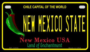 New Mexico State Wholesale Novelty Metal Motorcycle Plate MP-12906