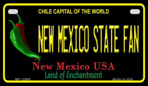 New Mexico State Fan Wholesale Novelty Metal Motorcycle Plate MP-12908