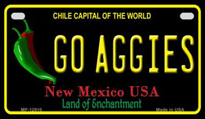 Go Aggies Wholesale Novelty Metal Motorcycle Plate MP-12910