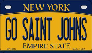 Go Saint Johns Wholesale Novelty Metal Motorcycle Plate MP-12913