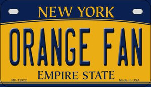 Orange Fan Wholesale Novelty Metal Motorcycle Plate MP-12922
