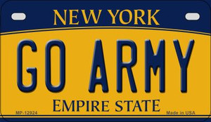 Go Army Wholesale Novelty Metal Motorcycle Plate MP-12924