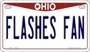 Flashes Fan Wholesale Novelty Metal Motorcycle Plate MP-12962