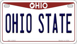 Ohio State Wholesale Novelty Metal Motorcycle Plate MP-12963