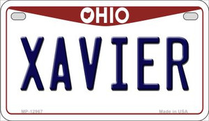 Xavier Wholesale Novelty Metal Motorcycle Plate MP-12967