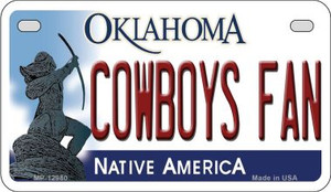 Cowboys Fan Wholesale Novelty Metal Motorcycle Plate MP-12980