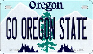Go Oregon State Wholesale Novelty Metal Motorcycle Plate